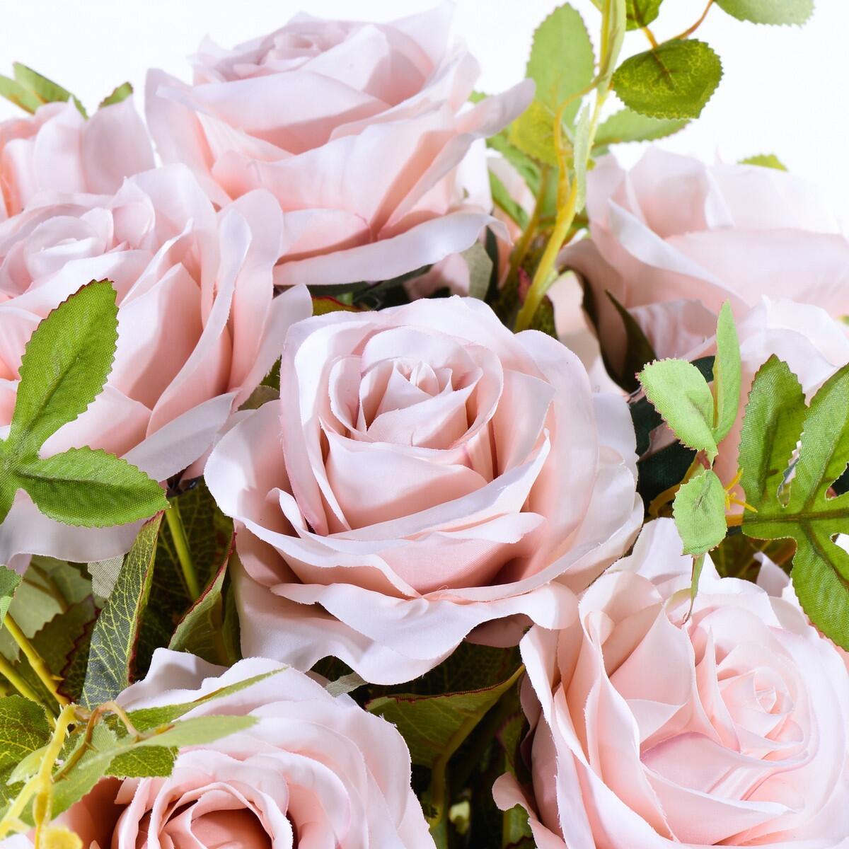 Arranjo de Rosas Nude em Taça Deslumbrante
