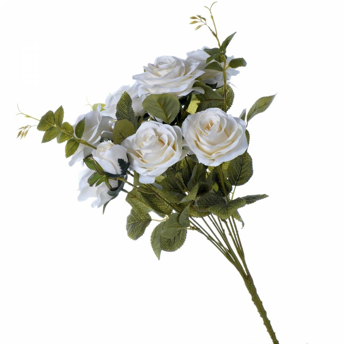 Buquê de Rosa Diana Off White