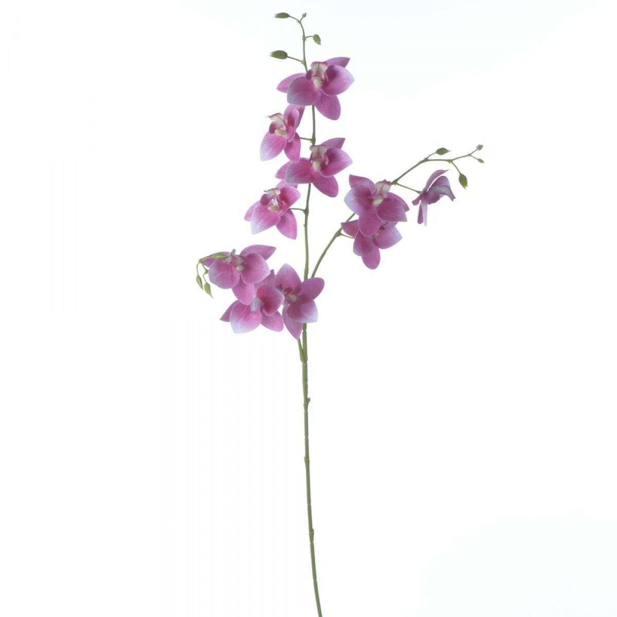 Haste de Orquídea de Silicone Rosa